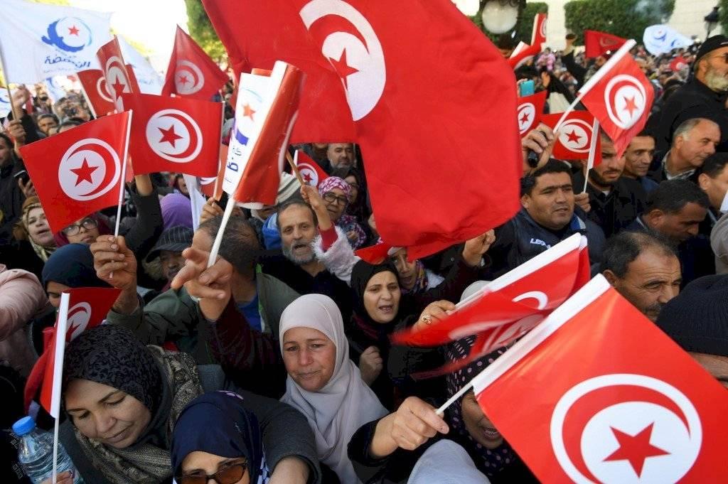 Movilización en Túnez