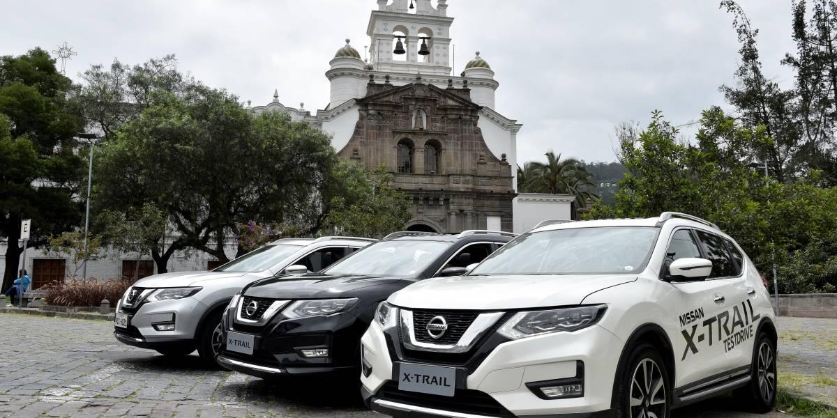 Nissan X-Trail probó sus funciones en una aventura urbana en Quito