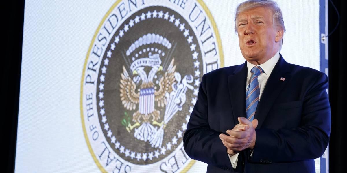 Despiden a empleado que modificó el sello presidencial de Estados Unidos