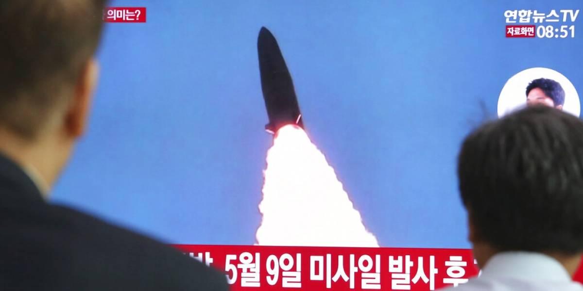 Por segunda vez en menos de una semana: Corea del Norte dispara dos misiles de corto alcance