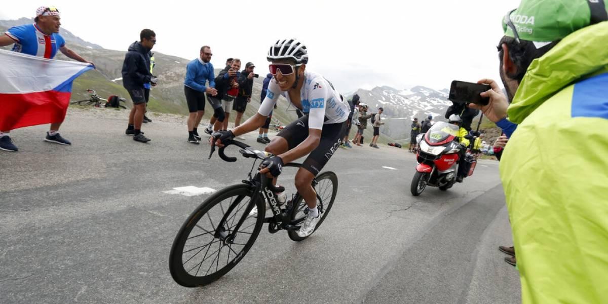 El colombiano Egan Bernal queda a un paso de ganar el Tour de Francia tras accidentada etapa