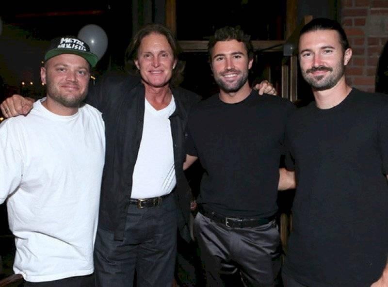 Bruce Jenner y sus hijos