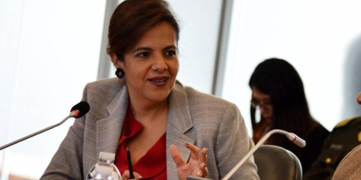 """Ministra María Paula Romo dice que censo de venezolanos comenzará """"en unas semanas"""""""