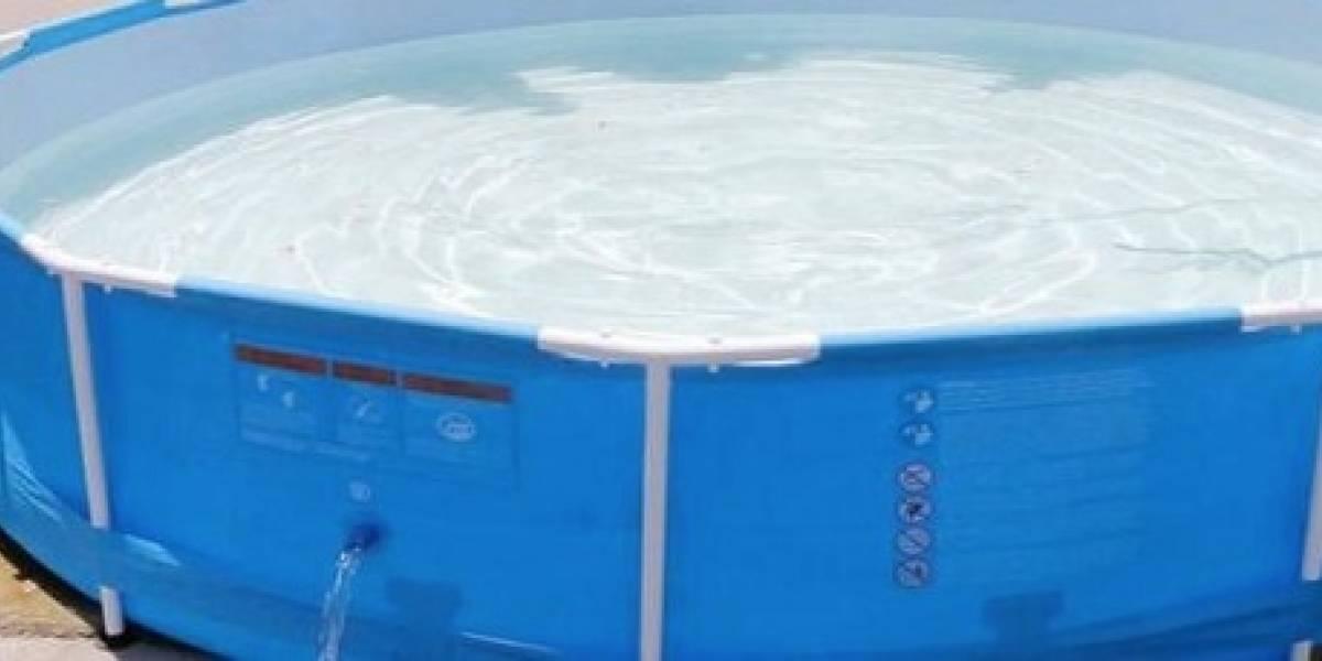 Niño de 3 años muere ahogado en una piscina de plástico