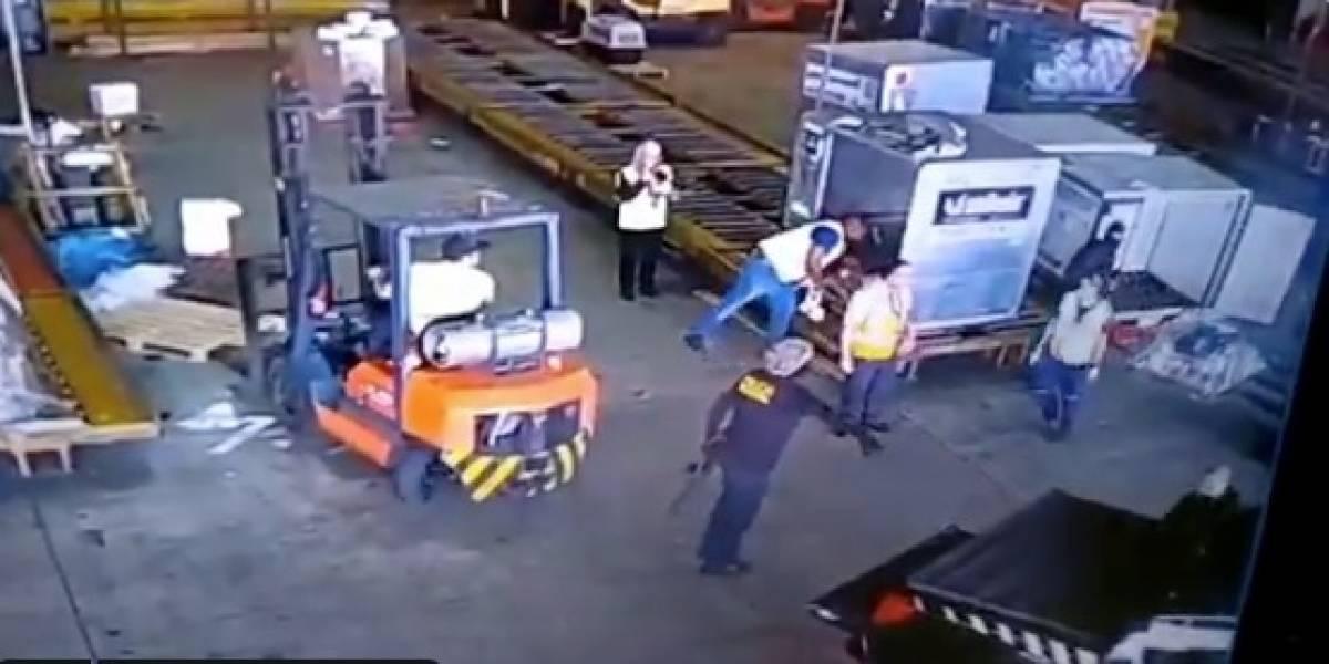 Ladrones disfrazados de policías robaron oro de 720 kg en aeropuerto de Brasil