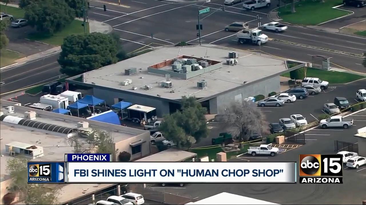 Una compañía desmembraba cuerpos humanos que le donaban, almacenaba las partes en cubetas y las vendía
