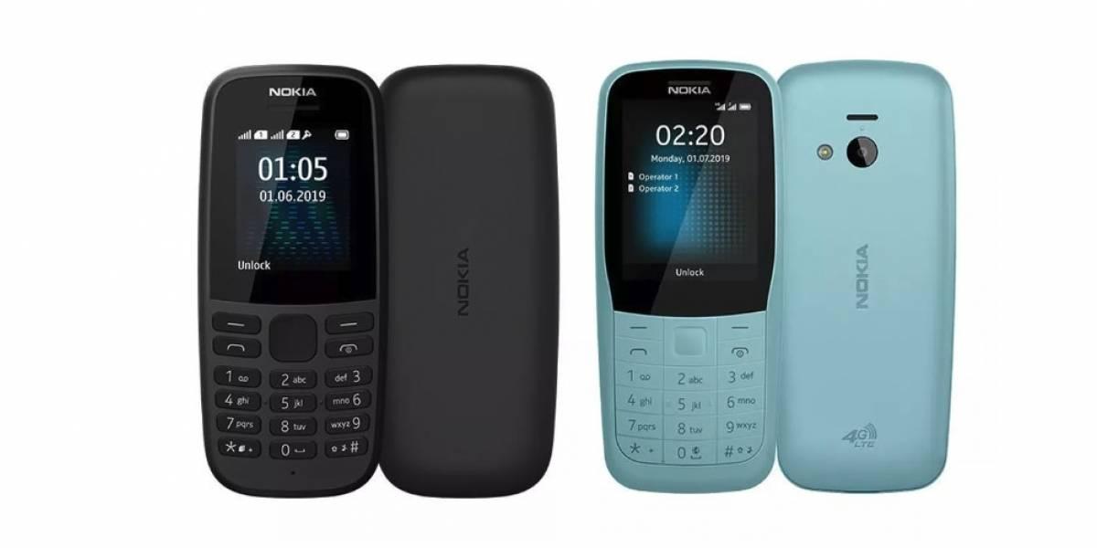 """Nokia acaba de lanzar dos teléfonos """"a la antigua"""" y súper resistentes"""