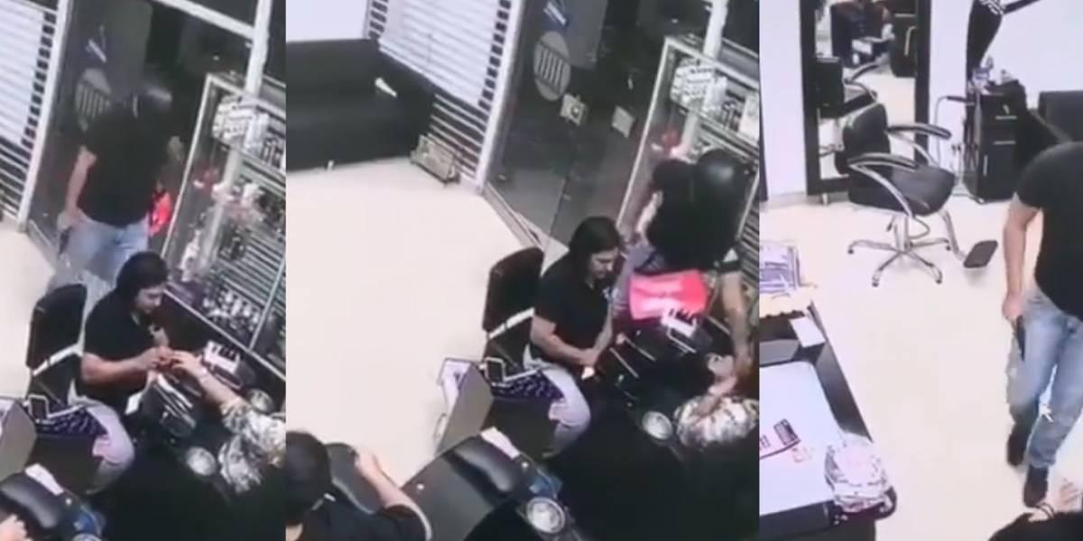 Falso domiciliario de Rappi robó a tres mujeres en una peluquería