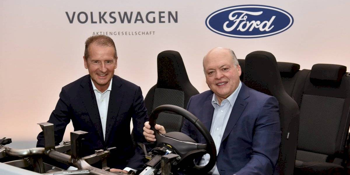 Ford y Volkswagen amplían su colaboración global para avanzar en conducción autónoma y electrificación