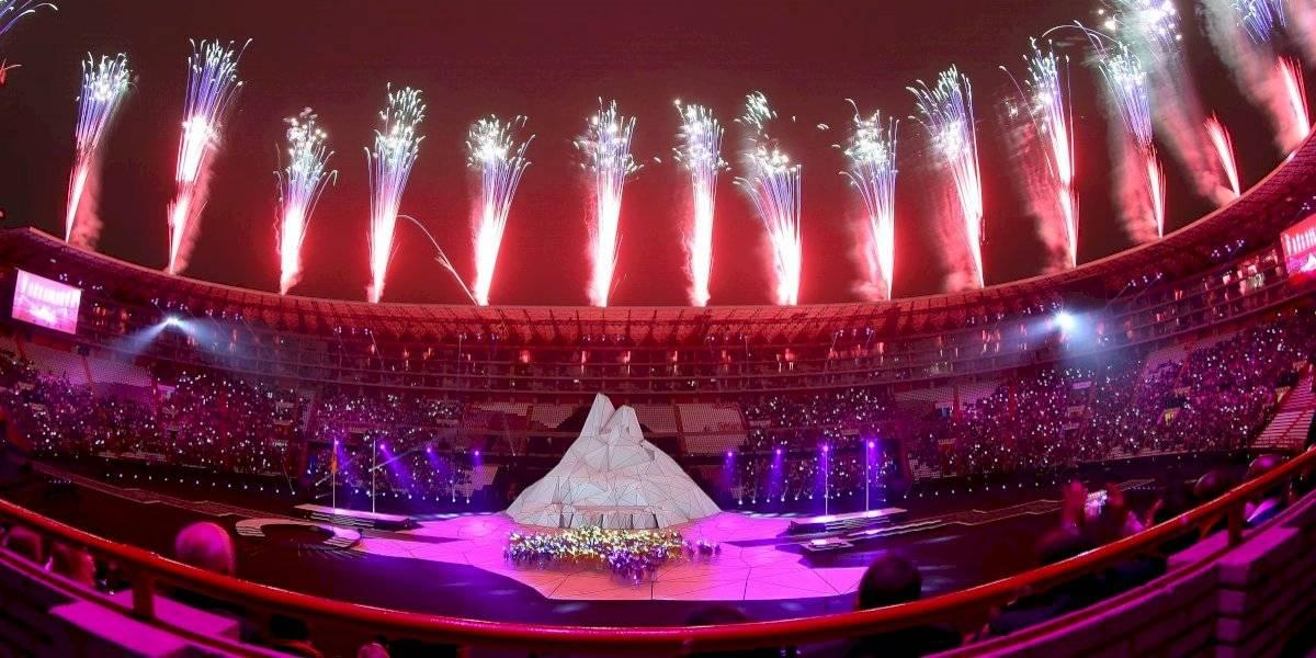 ¡Una fiesta! Así fue la inauguración de los Juegos Panamericanos 2019