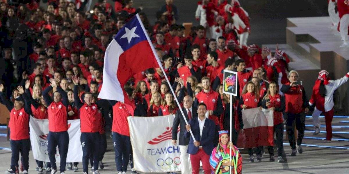 Felipe Miranda encabezó al Team Chile en la ceremonia inaugural de los Juegos Panamericanos Lima 2019