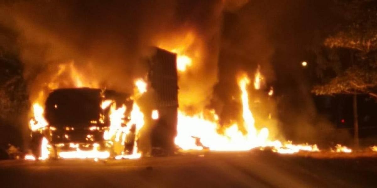 Fuerzas especiales de PNC mantienen presencia en Izabal tras incidentes violentos