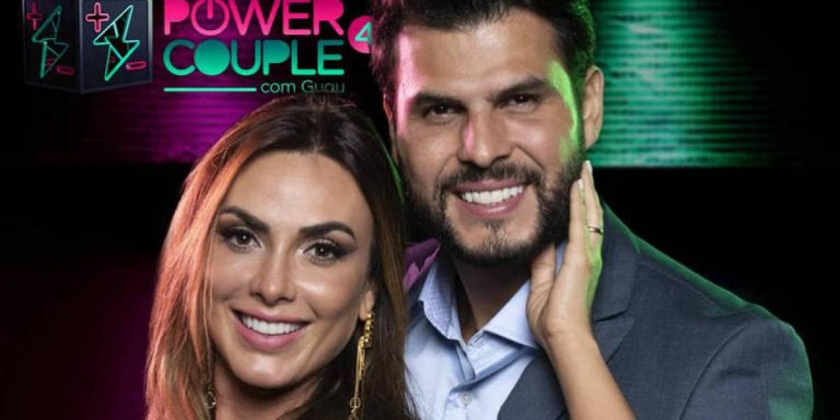 Nicole Bahls e Marcelo Bimbi vencem quarta temporada de 'Power Couple Brasil'