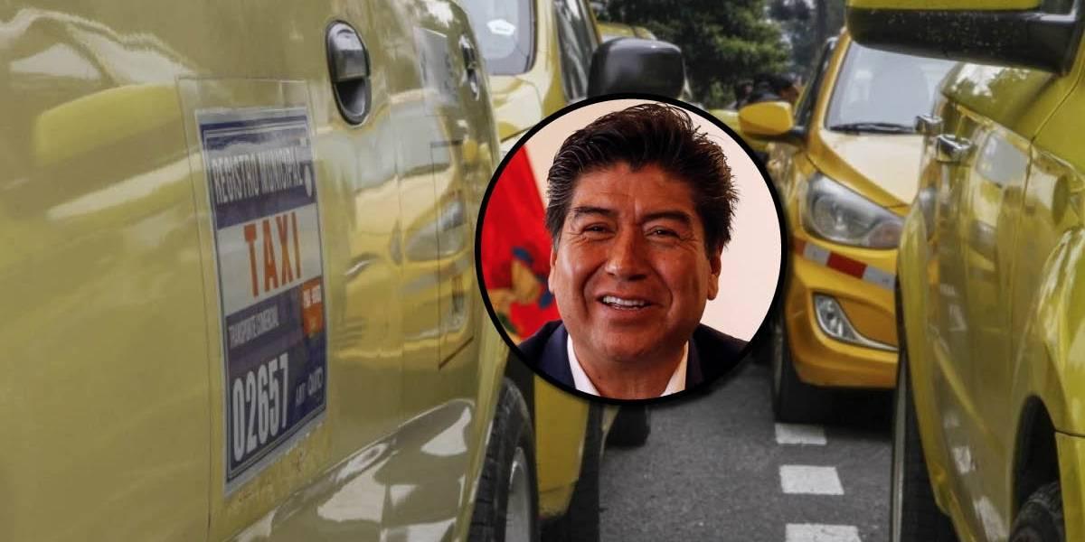 Taxistas rechazan ser incluidos en la ampliación de Pico y Placa anunciada por Jorge Yunda
