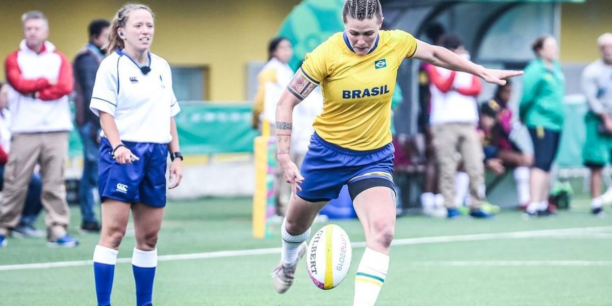 Seleção feminina de rugby vence a anfitriã nos Jogos Pan-Americanos