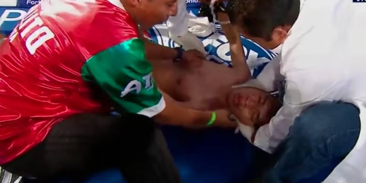 VIDEO: Boxeador sale del hospital, a más de un mes que se desvaneció en el ring