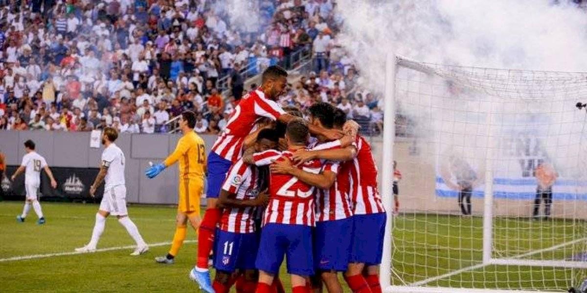 Atlético de Madrid humilló con goleada histórica a Real Madrid en amistoso en Nueva York