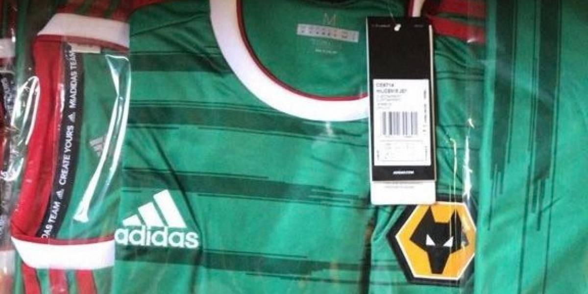 """Filtran tercer uniforme """"mexicano"""" del Wolverhampton"""