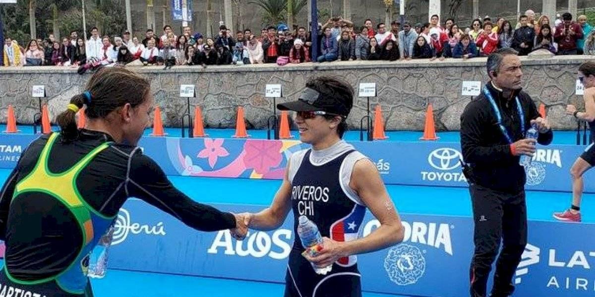 Bárbara Riveros no logró revalidar el oro de Toronto 2015 en los Panamericanos de Lima