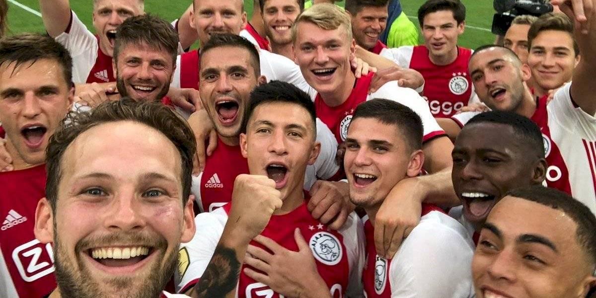 El Ajax sin Edson Álvarez le ganó la Supercopa de Holanda al PSV del 'Chucky' y Gutiérrez
