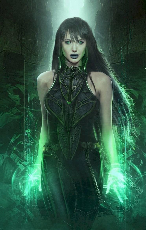 Angelina Jolie como Thena en los Eternals