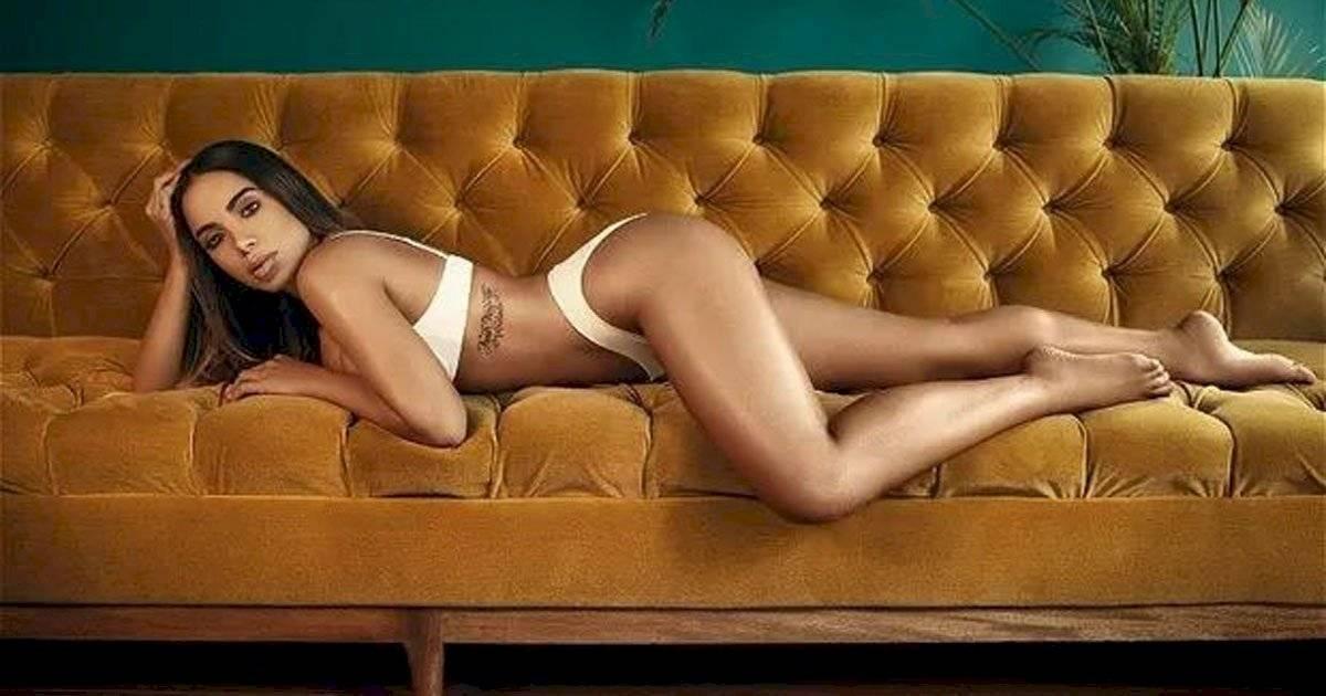 Anitta ousou em ensaio para revista Foto: Reprodução/Hernán Puentes