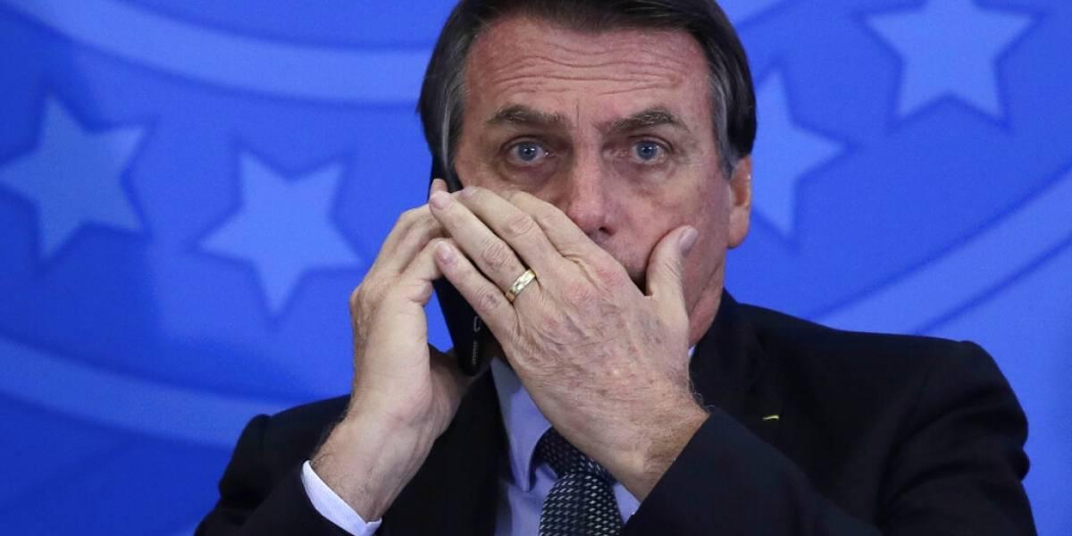 Bolsonaro amenaza con arrestar a periodista que le critica