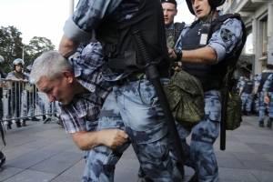 Manifestaciones en Moscú, Rusia