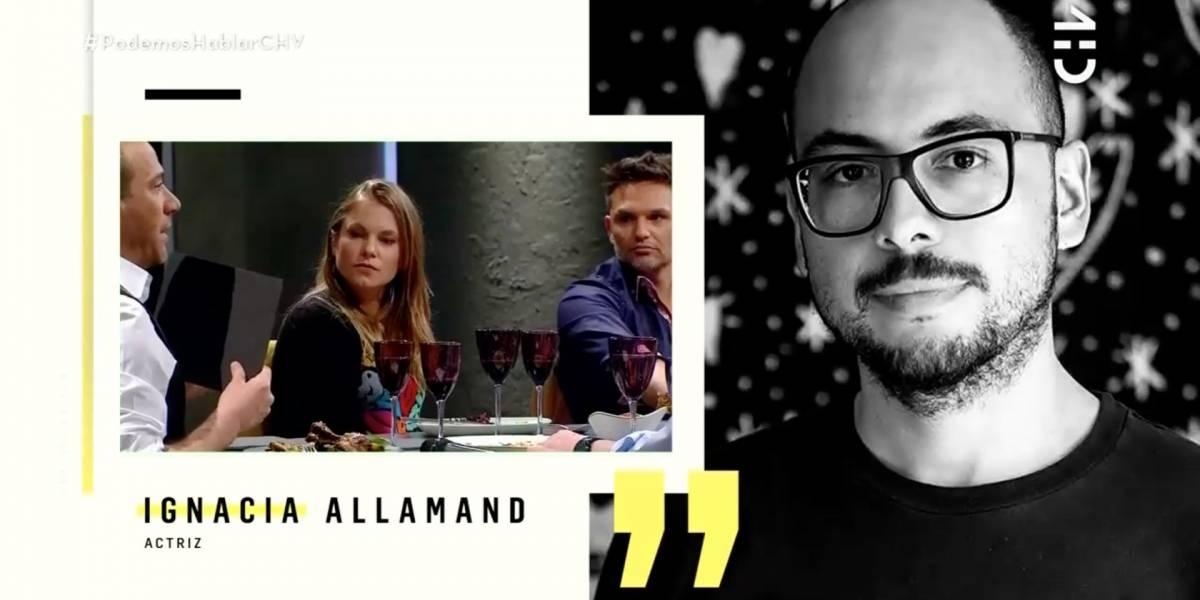 """Ignacia Allamand sobre Nicolás López: """"Si es condenado por los delitos que es acusado, yo lo voy a ir a ver a la cárcel"""""""