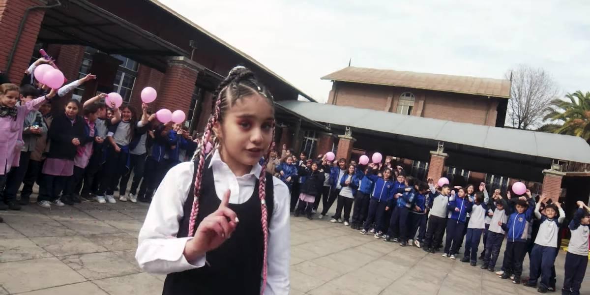 """Rossanita tiene 9 años y es la nueva promesa chilena del trap: """"Me considero una niña empoderada"""""""