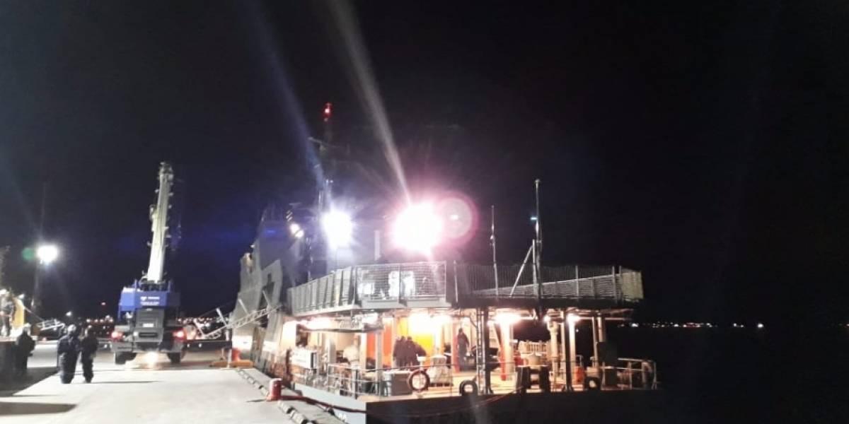 Isla Guarello en alerta por derrame de 40 mil litros de petróleo informó la Armada de Chile