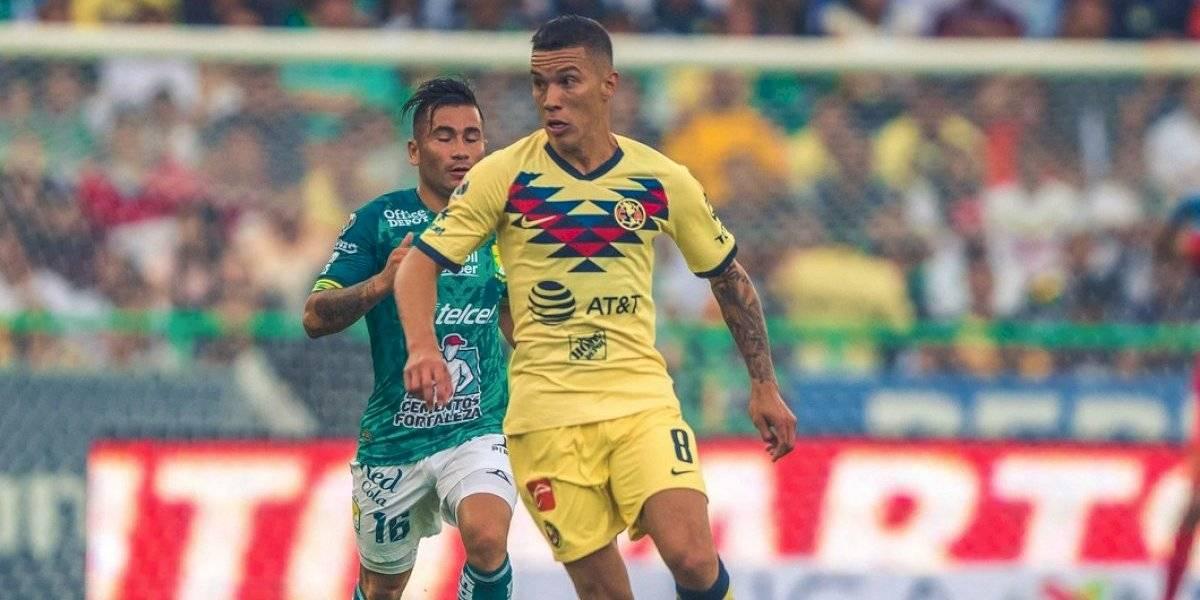 América de Nico Castillo empató sin goles con León de Jean Meneses