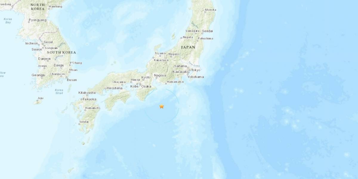 Sismo magnitud 6.3 en Shingu, Japon
