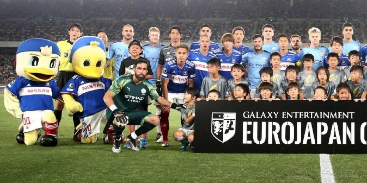 En Inglaterra se rinden ante el imponente regreso de Claudio Bravo al Manchester City