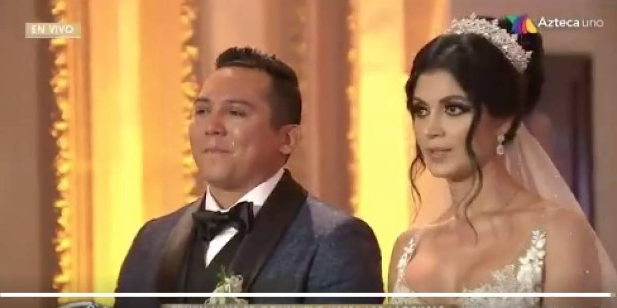 VIDEO. Famosos asisten a la lujosa boda de Edwin Luna y Kim Flores