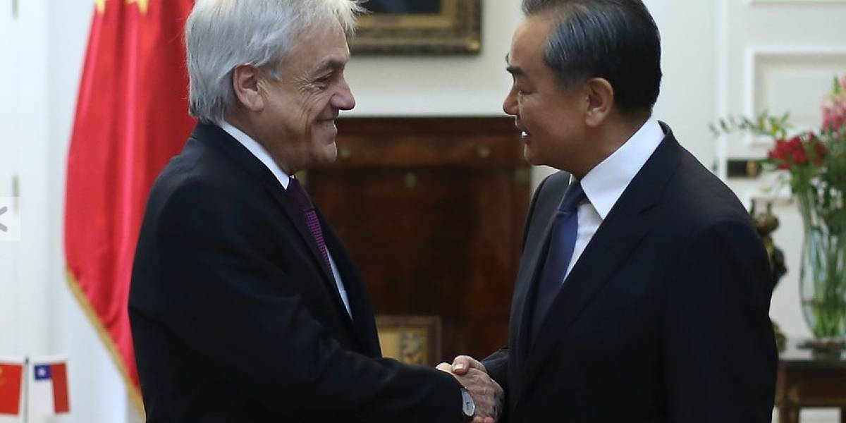 China es un socio estratégico: Presidente Piñera sostuvo encuentro con el canciller Wang Yi