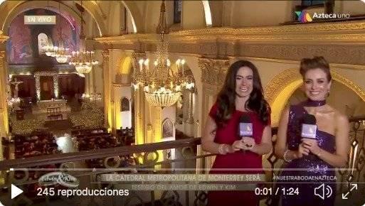 boda de Edwin Luna y Kim Flores