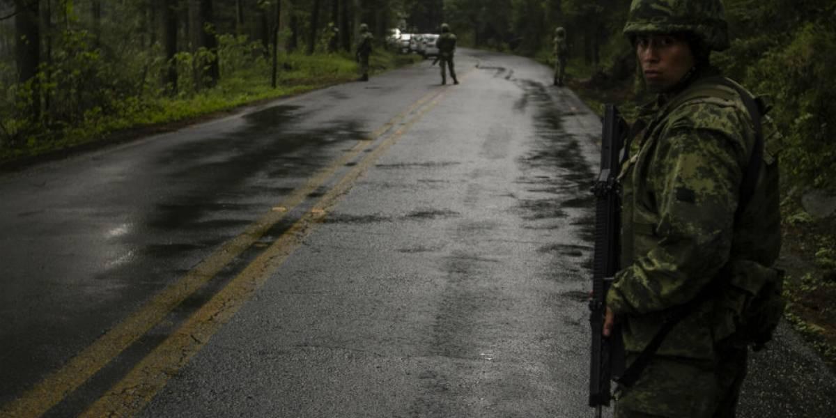 Hombres localizados en el Ajusco están relacionados con venta de drogas