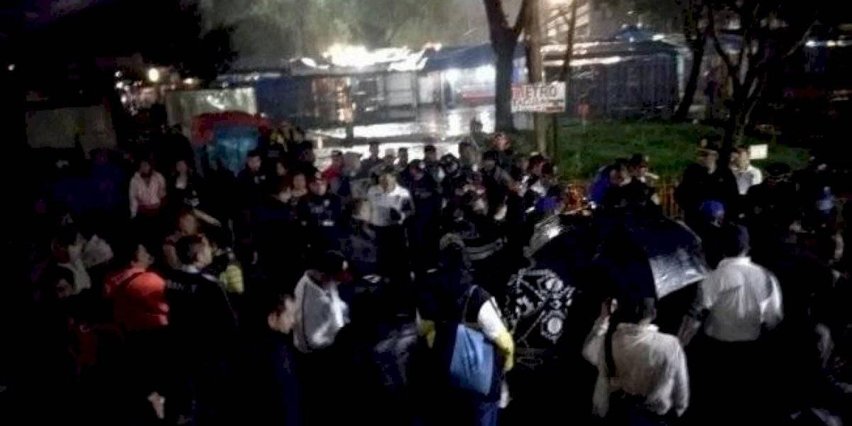 4 detenidos por asalto a policía federal en Tacuba tienen antecedentes penales