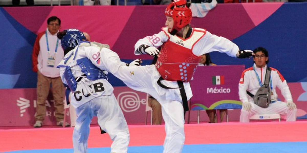 Daniela Souza consigue oro en taekwondo para México