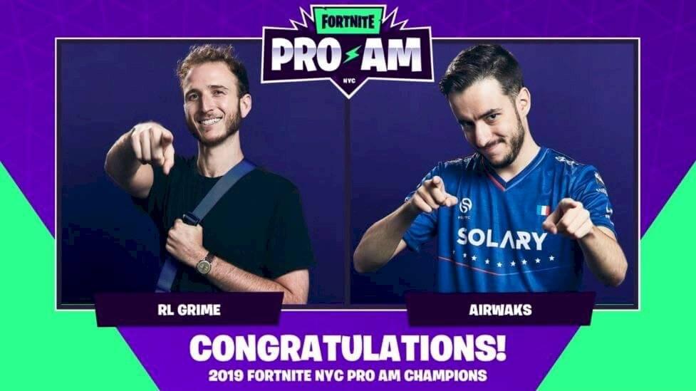 Los ganadores de Fortnite ProAM