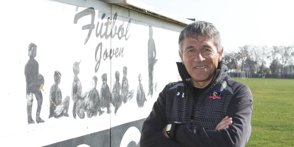 """Ariel Paolorossi, jefe de cadetes de Colo Colo: """"Los representantes deben entender dónde tienen injerencia y dónde no"""""""