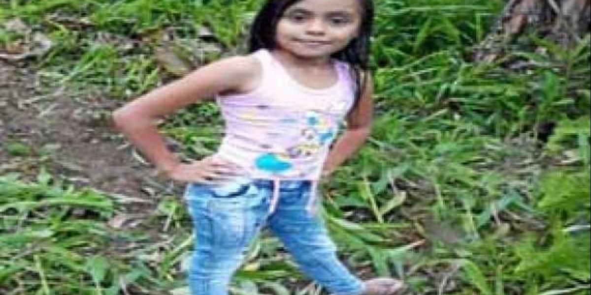 A la pequeña Karen Andrea Bernal la atacaron con sevicia