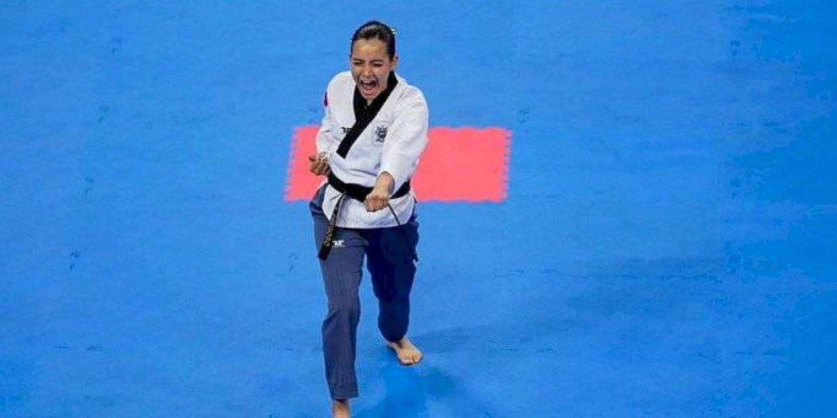 Paula Fregoso consigue la primera medalla de oro para México