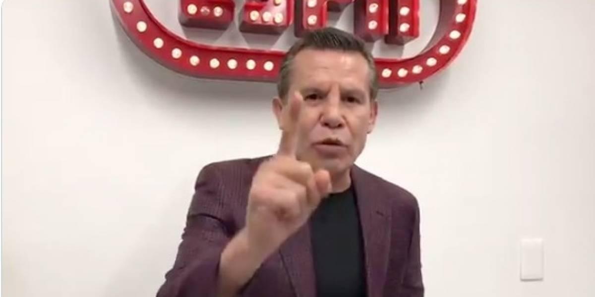 Julio César Chávez rechaza a Procuraduría para seguir proceso, tras ser asaltado