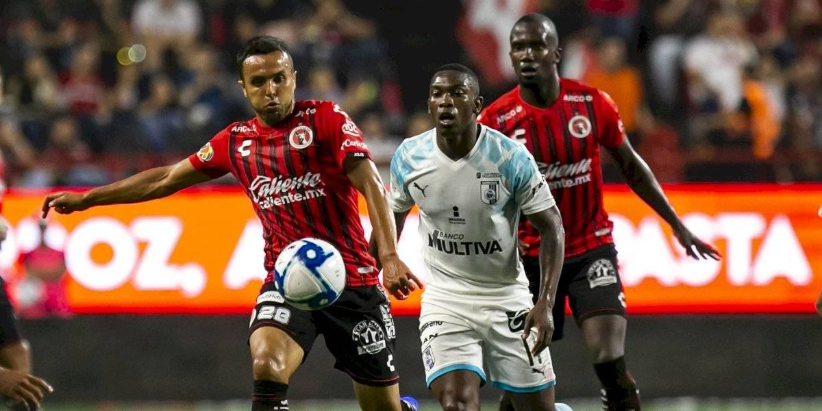Xolos y Querétaro empatan en el Estadio Caliente