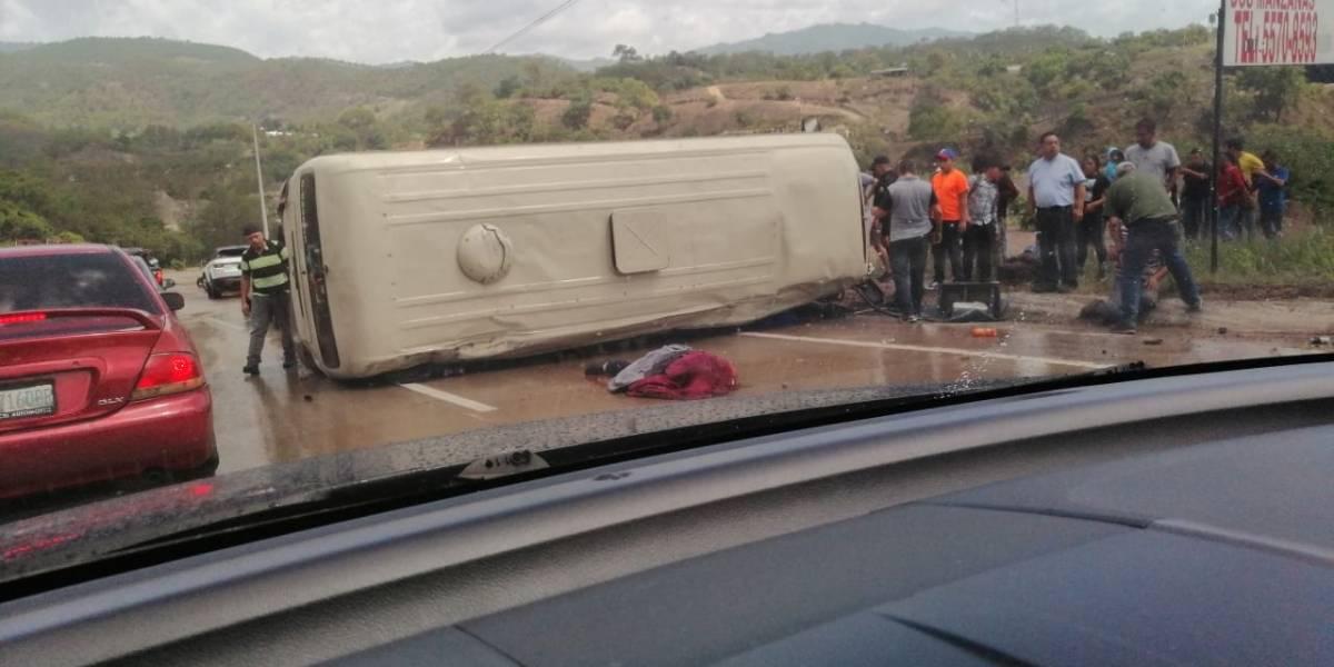 Muere persona en accidente de tránsito en ruta al Atlántico