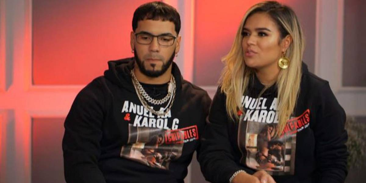 "VIDEO. Anuel AA ""avergüenza"" a Karol G en Instagram"