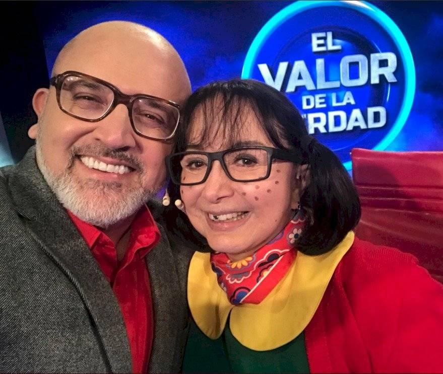 Beto Ortiz y La Chilindrina
