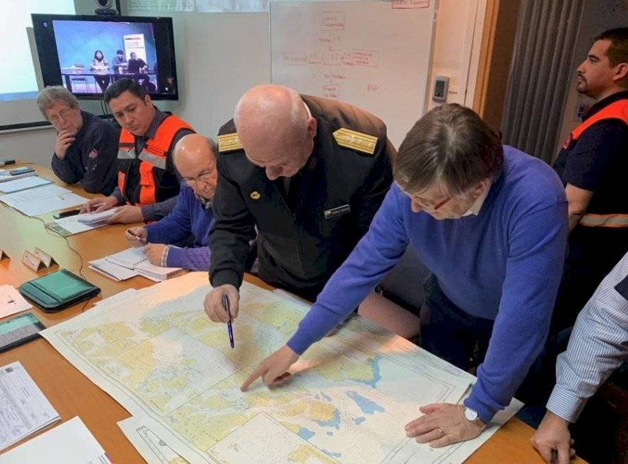 Armada implementa operativo en Isla Guarello